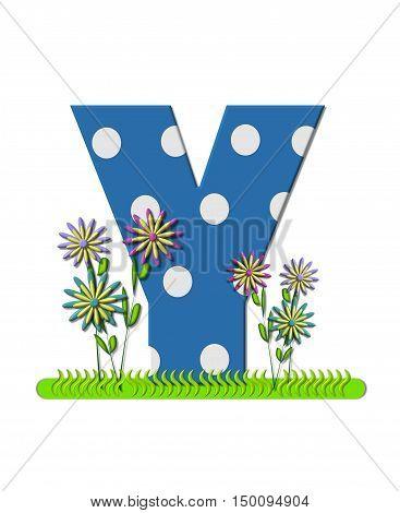 Alphabet Wildflower Meadow Y