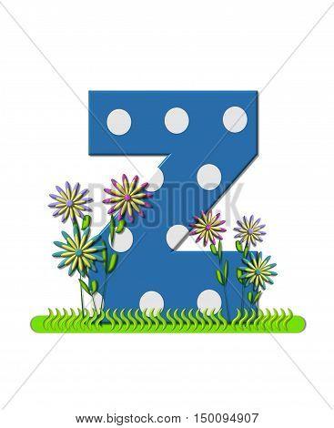 Alphabet Wildflower Meadow Z