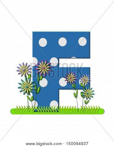 Alphabet Wildflower Meadow F