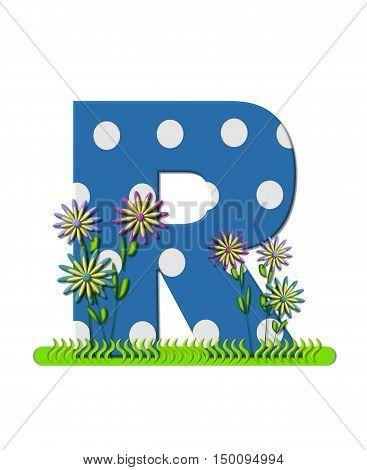 Alphabet Wildflower Meadow R