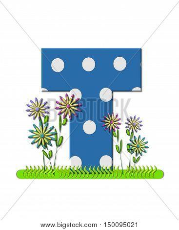Alphabet Wildflower Meadow T