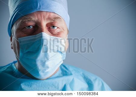 Surgeon at work in operating room