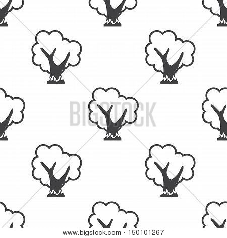 tree icon on white background for web