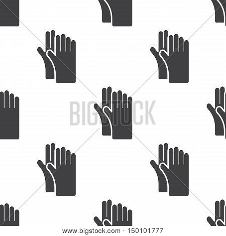 gloves icon on white background for web
