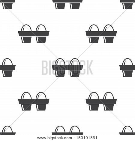 eggs icon on white background for web