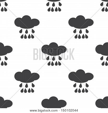 cloud icon on white background for web