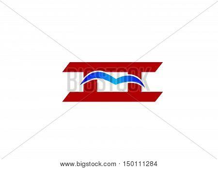 ii company logo. ii company logo vector design