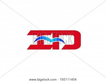 iD company logo. iD company logo vector design