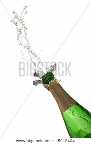 Bottle of champagne