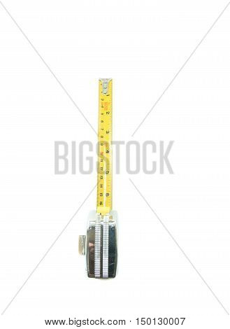 Measuring Tape on a white background, tool