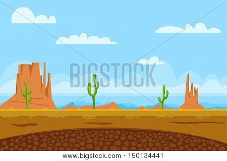 Example of the loading screen for a computer game Wild West
