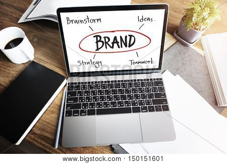 Goals Business Brand Launch Corporate Success Concept