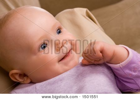 Adorable Infant - Four Months Old
