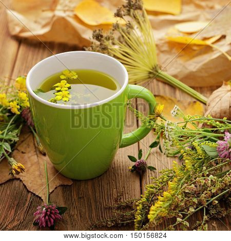 healthy herbal tea, home remedy
