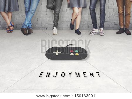 Enjoyment Game Playful Leisure Concept