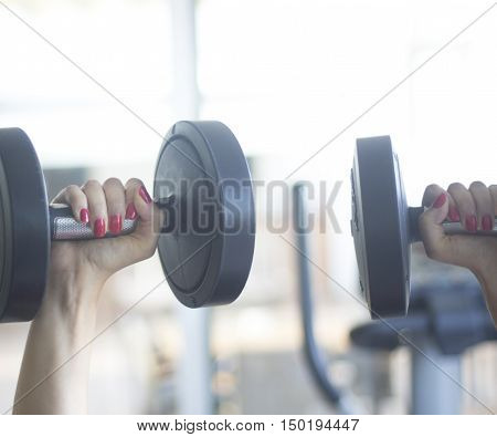 Gym Exercise Dumbell Free Weights