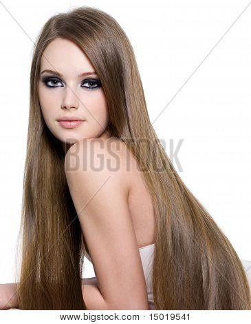 Sexy Girl With Beautiful Long Hair