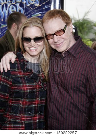 Bridget Fonda and Danny Elfman at the Los Angeles premiere of 'Charlotte's Web' held at the ArcLight Cinemas in Hollywood, USA on December 10, 2006.