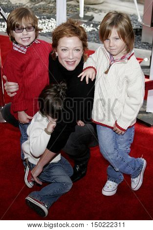 Lauren Holly at the Los Angeles premiere of 'Charlotte's Web' held at the ArcLight Cinemas in Hollywood, USA on December 10, 2006.