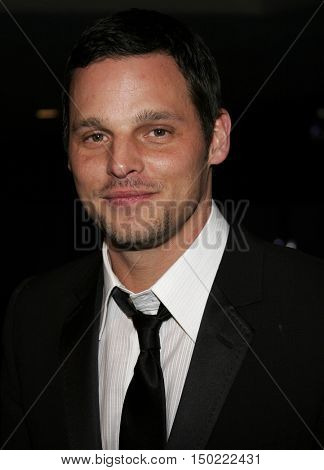 Justin Chambers at the Paramount Pictures' 2007 Golden Globe Award After-Party held at the Beverly Hilton Hotel in Beverly Hills, USA on January 15, 2007.