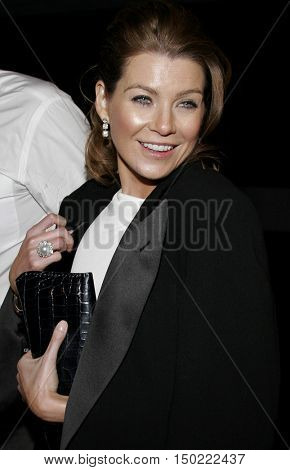 Ellen Pompeo at the Paramount Pictures' 2007 Golden Globe Award After-Party held at the Beverly Hilton Hotel in Beverly Hills, USA on January 15, 2007.
