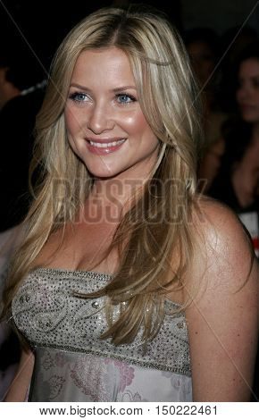 Jessica Capshaw at the Paramount Pictures' 2007 Golden Globe Award After-Party held at the Beverly Hilton Hotel in Beverly Hills, USA on January 15, 2007.
