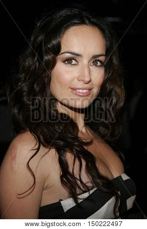 Ana de la Reguera at the Paramount Pictures' 2007 Golden Globe Award After-Party held at the Beverly Hilton Hotel in Beverly Hills, USA on January 15, 2007.