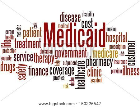 Medicaid, Word Cloud Concept 9