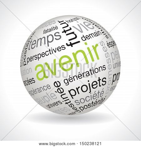French Future Theme Sphere