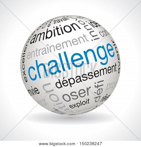 French Challenge Theme Sphere