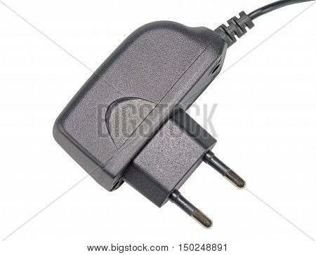 the AC/DC adapter on a white background