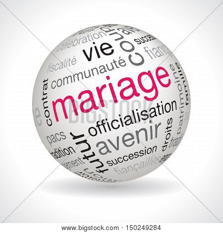 French Marriage Theme Sphere