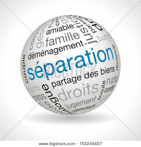 French Separation Theme Sphere