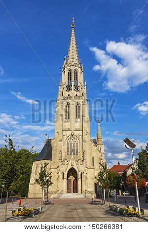 St. Mary's Church (kosciol Mariacki) In Katowice, Poland
