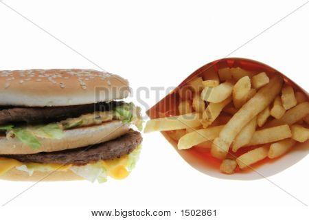 Hamburger And Potatoes