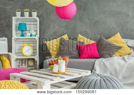 Relax In Colorful Atmosphere