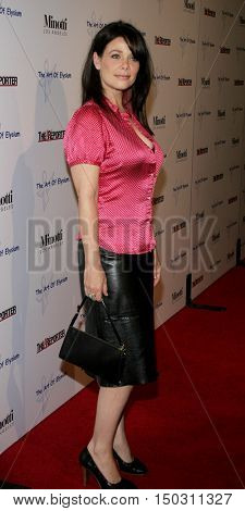 Meredith Salenger at the Art of Elysium Presents Russell Young 'fame, shame and the realm of possibility' held at the Minotti in West Hollywood, USA on November 30, 2005.