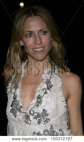 Sheryl Crow at the Los Angeles Free Clinic's 29th Annual Dinner Gala at the Regent Beverly Wilshire in Beverly Hills, USA on November 21, 2005.