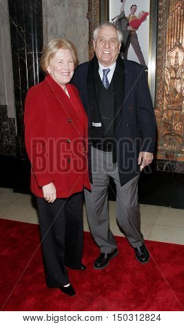 Garry Marshall and wife Barbara at the White Christmas stage musical opening held at the Pantages Theatre in Hollywood, USA on November 28, 2005.