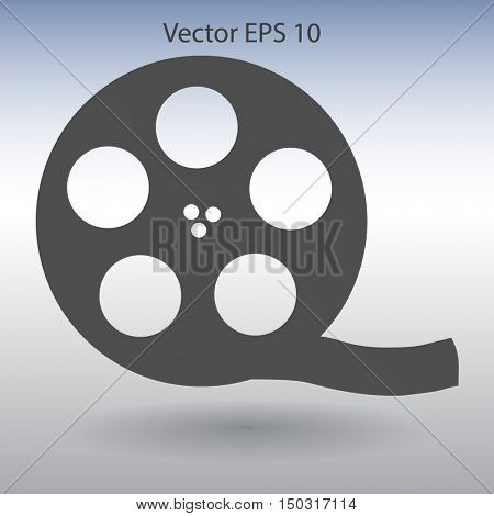 Cinema retro design vector picture