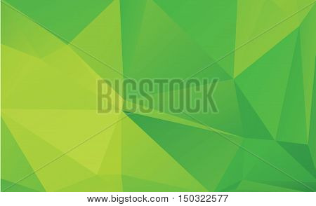 green low poly background for text  vector