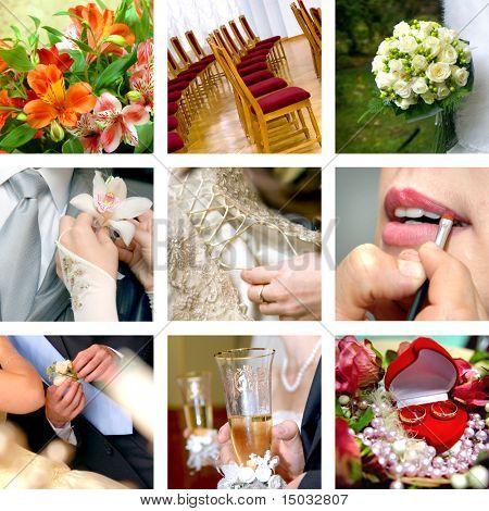 color wedding photos