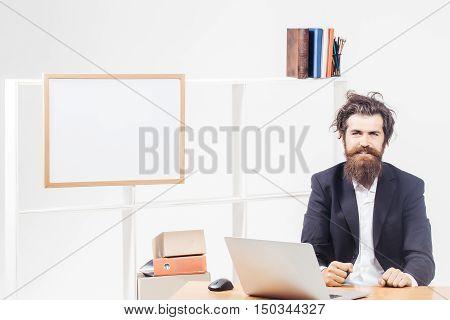 Good Geek At Desk