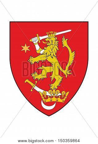 oltenia historic region romania armorial chevron symbol