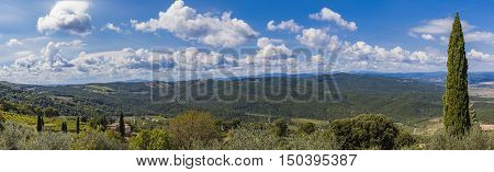 View At Val D'orcia From Montalcino