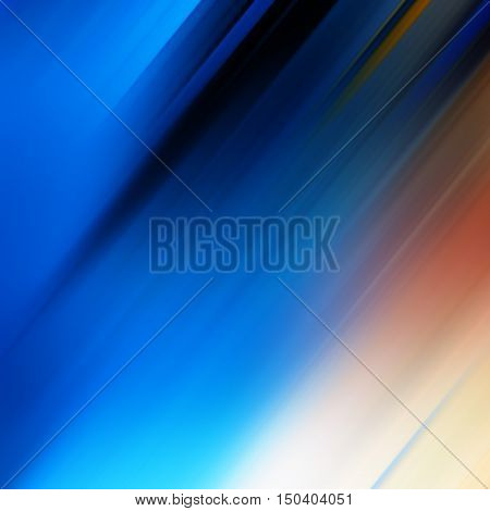 abstract diagonal color lines and spots background blur