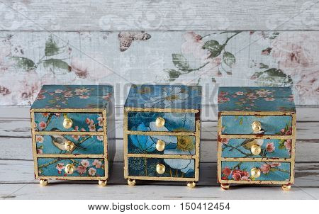 Hand Made Jewellery Boxes
