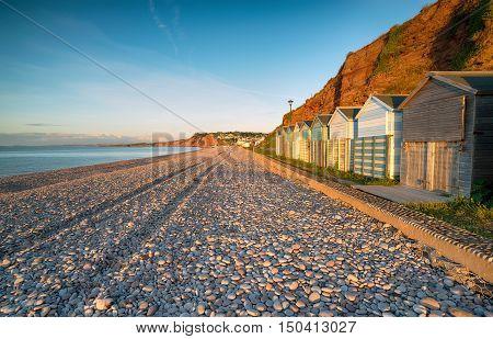 Beach Huts At Udleigh Salterton
