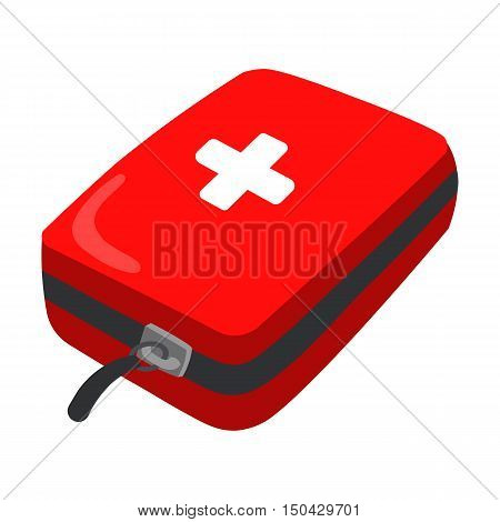 Medicine chest icon of vector illustration for web and mobile design