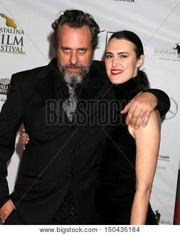 LOS ANGELES - OCT 1:  Patrick Sane, Erin Elizabeth Reed at the Catalina Film Festival - Saturday at the Casino on October 1, 2016 in Avalon, Catalina Island, CA